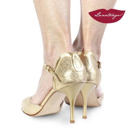 Gota » Cuero Oro fantasia y Cuero Oro – 7,5cm