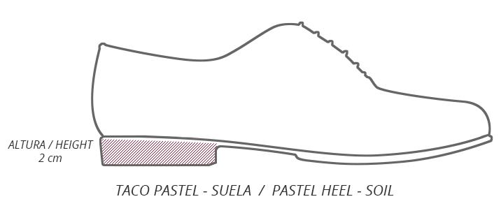 Taco Pastel - Suela