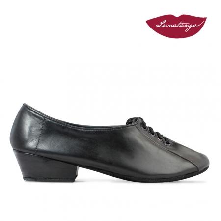 Chatitas Practice »Leather Black Sole Chrome - 3cm