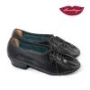Chatitas Práctica » Cuero Negro Suela Cromo – 3cm