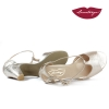 Pasos » Soft Gold Metallic Leather - 5,5 cm